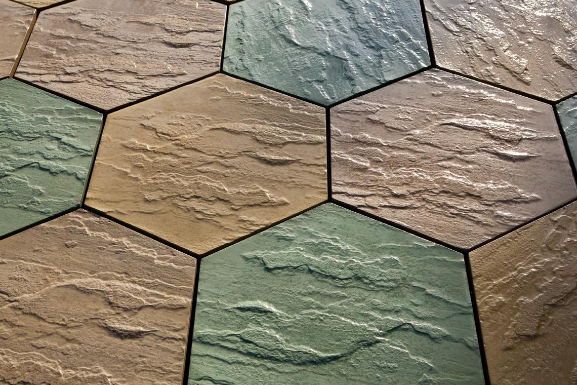 Classic Riven – Bignold Green & Stroma Yellow