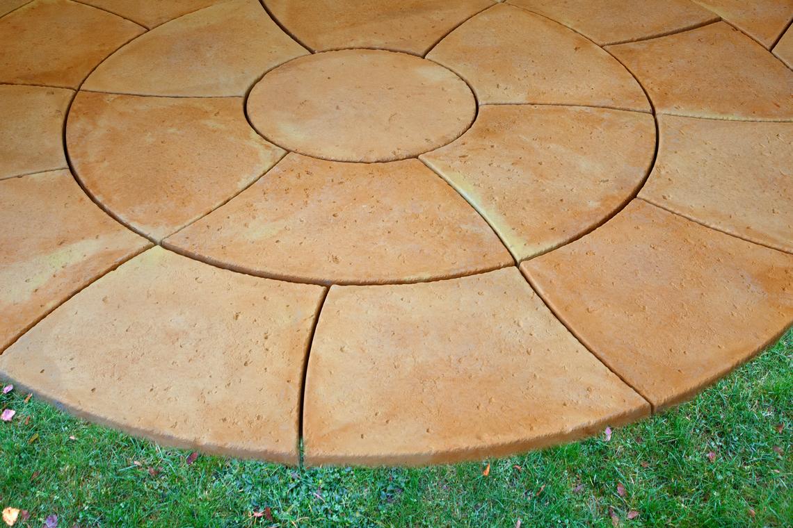 The Travertine Catherine Wheel