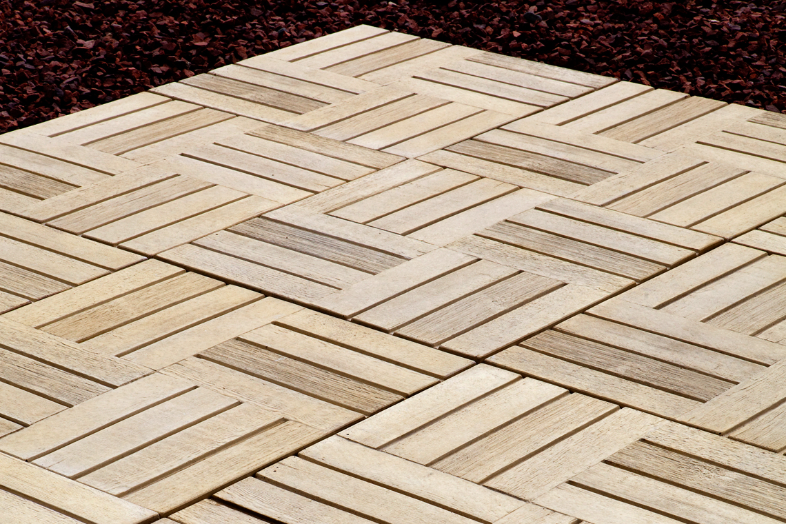The smart alternative to real wood decking